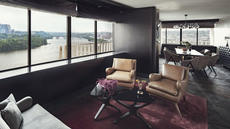 Presidental Suite Luxury Hotels In Dc The Watergate Hotel